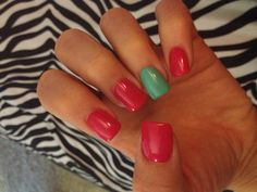 Summer girl shellac