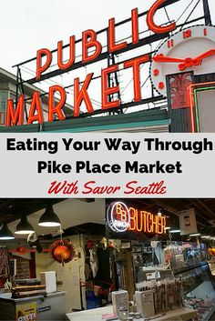 My favorite adventure in Seattle was getting to know the people, the place and the food with Savor Seattle's Pike Place Market tour. The best way to start your visit to exploring Seattle.