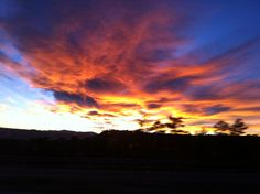 From I-25 #Castle Rock, CO #Sunset