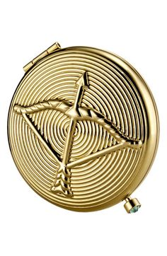 An elegant personalized #gift for the #makeup maven in your life: Estée Lauder Zodiac Powder Compact #Nordstrom