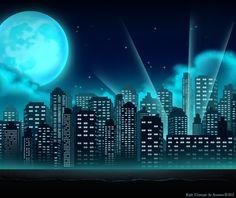 superhero cityscape backdrop | Superhero Cityscape - Copy