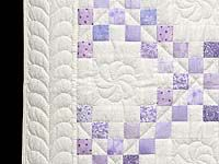 Irish Chain Quilt -- splendid adeptly made Amish Quilts from Lancaster (wh5960)