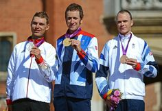 Cycling: Team GB's Bradly Wiggins  & Chris Froome wins Gold and Bronze!