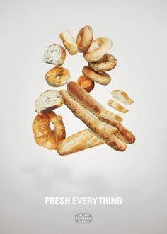 """Fresh Everything"" - Calgary Farmers' Market Ad Campaign."