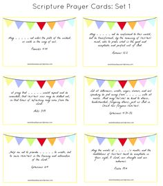 praying for your children: a free printable «