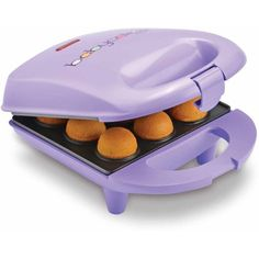 The Babycakes mini v cake pop maker is yet another versatile appliance that you will want for the delicious cake pops. The mini cake pope maker can be used in m Babycakes Cake Pop Maker, Dessert Makers, Cake Makers, Pie Dessert, Dessert Recipes, Cupcakes, Doughnut Holes, Cake Pops How To Make, Wedding Cake Flavors