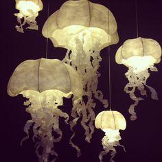 Medusa, Grands Salons, Bohemian Living Rooms, Jellyfish, Decoration, Architecture Design, Chandelier, Ceiling Lights, Lighting