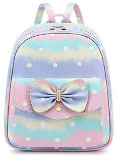 Girly Backpacks, Cute Mini Backpacks, Kids Backpacks, Mini Backpack Purse, Small Backpack, Girl Bedroom Designs, Simple Bags, Work Travel, Beautiful Bags
