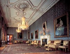 Ballroom, Windsor Castle - photographer Mark Fiennes, The Royal Collection copyright 2009 Her Majesty Queen Elizabeth II
