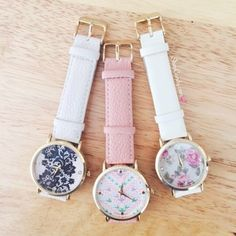 Such beautiful watches!  I love them all.  Get 'em all at www.ishopcandy.com  #ishopcandy