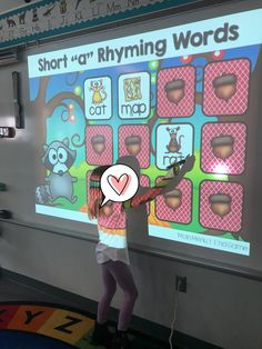 cvc memory match interactive PowerPoint. I like the idea of interactive powerpoints without smart boards