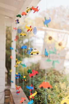 Plains, Trains and Automobiles Birthday Party Ideas | Photo 1 of 112
