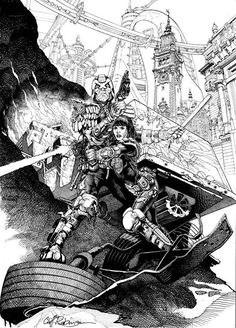 2000AD Covers Uncovered: Cliff Robinson and Dylan Teague - Legal Eagle!
