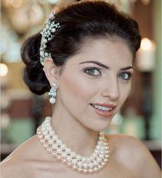 Lindos collares de perlas para boda  3