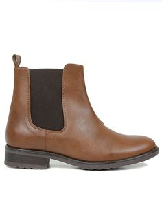 Chelsea boots chestnut