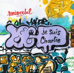 Yosh - street art paris 10 - pointe poulmarch jan 2015 #jesuischarlie Graffiti, Street Art Love, Mandala, Bansky, Pavement, Urban Art, Art And Architecture, Cool Art, Barcelona