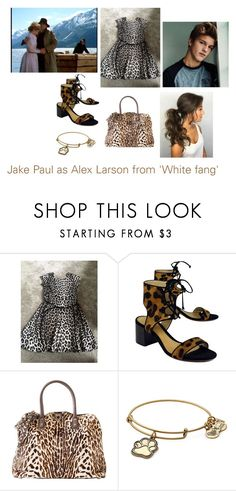 """""""Disney dream cast: Jake Paul as Alex Larson from 'White fang'"""" by sarah-m-smith ❤ liked on Polyvore featuring Schutz, Valentino and Alex and Ani"""