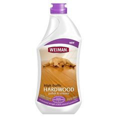 It's important to clean your hardwood floor to avoid any future permanent damage, especially when there is high traffic.Weiman® High-Traffic Hardwood Polish & Restorer makes it easy! It is specially formulated to instantly rejuvenate hardwood floors. Laminate Flooring Cleaner, Clean Hardwood Floors, Hardwood Floor Cleaner, Circulation, Green Cleaning, Animals For Kids, Biodegradable Products, Restoration, Polish