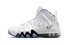 #Nike Barkley Posite Max - White/Metallic Silver #sneakers / Follow my SNEAKERS board!