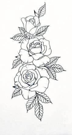 - Tattoo Designs Tattoo Tattoos - – Tattoo Designs Tattoo Tattoos Tattoos Aquarell Tattoos Tattoos … – Tattoo Designs Tattoos T - Rose Drawing Tattoo, Tattoo Design Drawings, Tattoo Sketches, Rose Tattoo Stencil, Rose Outline Drawing, Rose Outline Tattoo, Flower Tattoo Drawings, Rose Drawing Simple, Skull Stencil