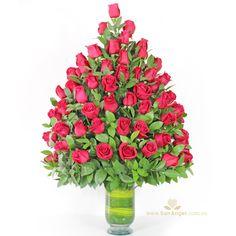 100% amor #amor #flores #medellin #diloconflores