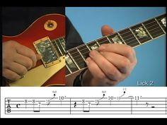 Blues Guitar Licks Lesson (Intros & Endings) - YouTube