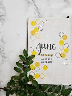 June spread #bulletjournal #junebulletjournal #bujo #junebujoideas #junespread #beeweeklyspread #beeweeeklyspready