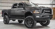 Find your dream lifted truck, SUV, or Jeep. View our fresh inventory each month. Our lifted Ford trucks and Jeeps for sale go fast! Dodge Ram Diesel, Chevy Diesel Trucks, Ford Diesel, Ram Trucks, Lifted Ford Trucks, Cool Trucks, Pickup Trucks, Dodge Cummins, 2018 Ram Power Wagon
