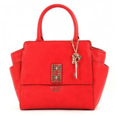 Guess Pierce Satchel red 2015 collection by Neola Apparel Guess Jeans, Satchel, Shoulder Bag, Handbags, Red, Accessories, Collection, Shoes, Fashion