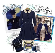 """""""Blue"""" by lorniux ❤ liked on Polyvore"""