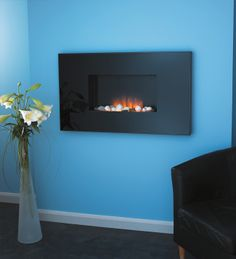 Flamerite Corello Mirror Wall Mounted or Inset Electric Fire