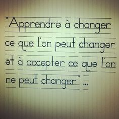 """BKS Iyengar ~ yoga philosophy : """"Learn to change what can be changed, and to accept what can not be changed"""""""
