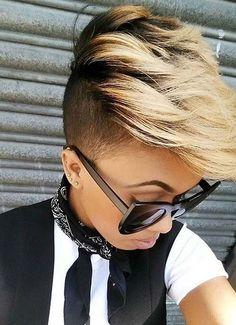 40 Kurze Frisuren für Frauen Elf Bob Unterbieten Haar Moderne Haare und Frisuren