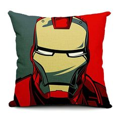 Superhero Throw Pillow Cases
