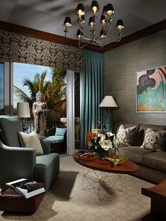 Contemporary Living Rooms from Brian Patrick Flynn : Designers' Portfolio 6437 : Home  Garden Television