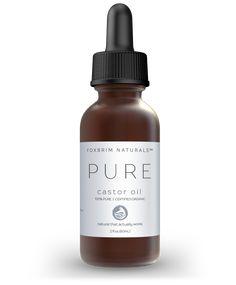 100% Pure Organic Castor Oil - 2 oz