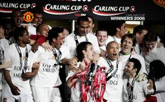 Carling Cup Winners 2006 Football Team Pictures, Premier League Champions, European Cup, Live Matches, Match Highlights, Manchester United Football, Europa League, Man United, The Unit