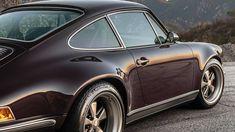 Porsche Electric, Singer Vehicle Design, Eggplant Purple, Dark Colors, Porsche 911, Used Cars, Exterior, Vehicles, Leather