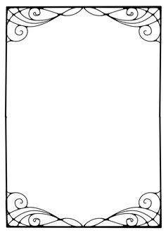 page border art nouveau shell - Yahoo Image Search Results Motifs Art Nouveau, Art Nouveau Pattern, Art Nouveau Design, Owl Clip Art, Boarder Designs, Art Nouveau Illustration, Season Of The Witch, Bullet Journal Art, Flower Images