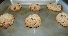Gluten-free oatmeal chocolate chip cookies made with sorghum flour.