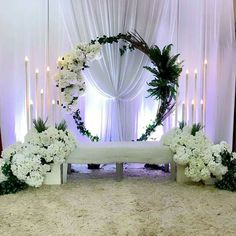 homeaccessories homeaccents Stage Decoration For Wedding Hall Decorations, Wedding Stage Design, Wedding Reception Backdrop, Wedding Entrance, Backdrop Decorations, Luxury Wedding Decor, Simple Elegant Wedding, Pelamin Simple, Weeding