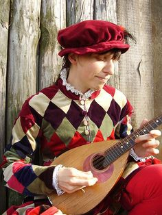 Items similar to Harlequin Renaissance costume for century carnival and masquerade - Made to order on Etsy Renaissance Shirt, Renaissance Fair Costume, Medieval Costume, Art Costume, Cool Costumes, Vintage Costumes, Harlequin Costume, Old Dresses, Medieval Fashion