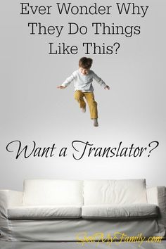 How many times have you thought: Why did you do that? What were you thinking? Wouldn't it be great to have your own personal translator to interpret child behavior? Here's your translator! http://www.spoilmyfamily.com #interpretchildbehavior #sensoryprocessing101