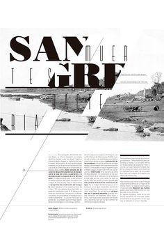 Maqueta editorial. Programa de 12 páginas sobre el dengue.Typographia 2 Longinotti, Diseño Gráfico.FADU, UBA, 2012.