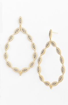Freida Rothman 'Wildfire' Teardrop Earrings available at #Nordstrom