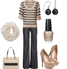 All Dressed Up, created by blue-star-marie on Polyvore