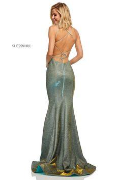 7b3022bc040 Sherri Hill 52614. Unique Prom DressesFormal DressesSexy DressesBeautiful  ...