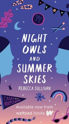 POV: Your parents are forcing you to go to summer camp. All you want to do is leave, until a gorgeous camp counsellor crosses your path... Discover the story of Emma and Vivian in Night Owls and Summer Skies, out now from Wattpad Books! 🌛   #wattpad #reading #diversebooks #diversereads #diversevoices #diverselit #lgbtstories #lgbtbooks #queerlit #lgbtreads #lgbtqbooks #pridebooks #pridestories #pride #youngadult #youngadultlit #wattpadstory #wattpadstories #bookstoread #yabooks Best Books Of 2017, Social Themes, Cute Romance, Wattpad Books, Anime Love Couple, Summer Sky, Cool Books, Night Owl, True Quotes