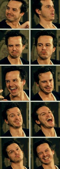 Ladies & Gentlemen: the expressive Andrew Scott. >>Left column, 4th one down. I can't stop laughing!