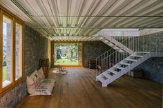 Casa TMOLO conversion ground floor staircase